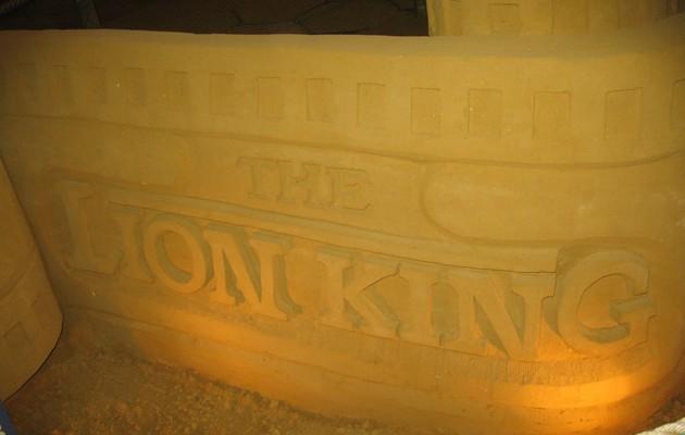zandsculpturenfestival,blankenberge,zee,disney