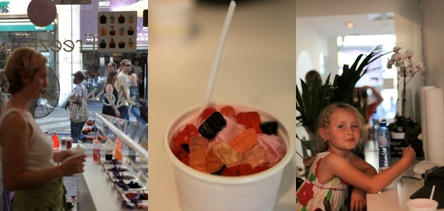 België, Brussel, Freezy Yog, ijs, yoghurt