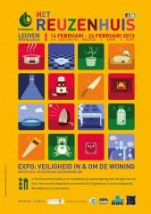 Reuzenhuis, Leuven, Gent, Genk, Brugge, ongevallen, kinderen, workshops, informatie