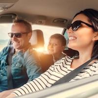 onderweg, reizen met kinderen, auto